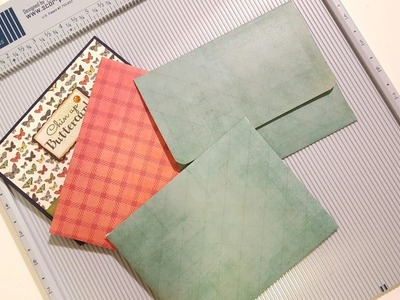 HOW TO MAKE AN ENVELOPE FOR AN A2 CARD USING THE SCOR-PAL