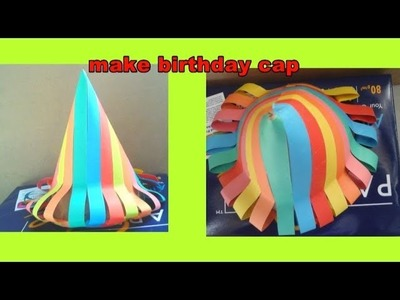 How to make beautiful birthday cap with paper for kids | easy Origami