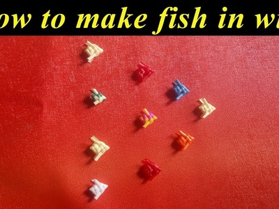 How to make fish in wire