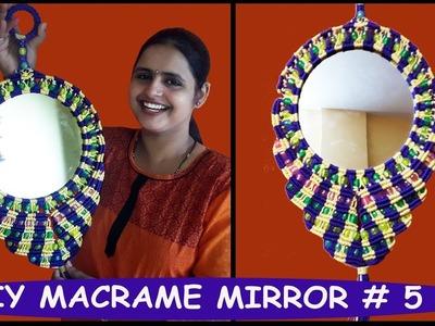 HOW TO MAKE Macrame Mirror Design # 5