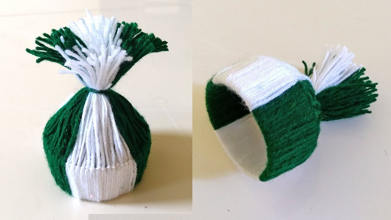 How to make mini hat. Simple Woolen Hat.Merry Christmas & Happy New Year