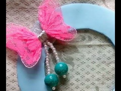 How to make minnie mouse ears with fabric