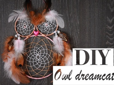 How to Make Owl Dreamcatcher