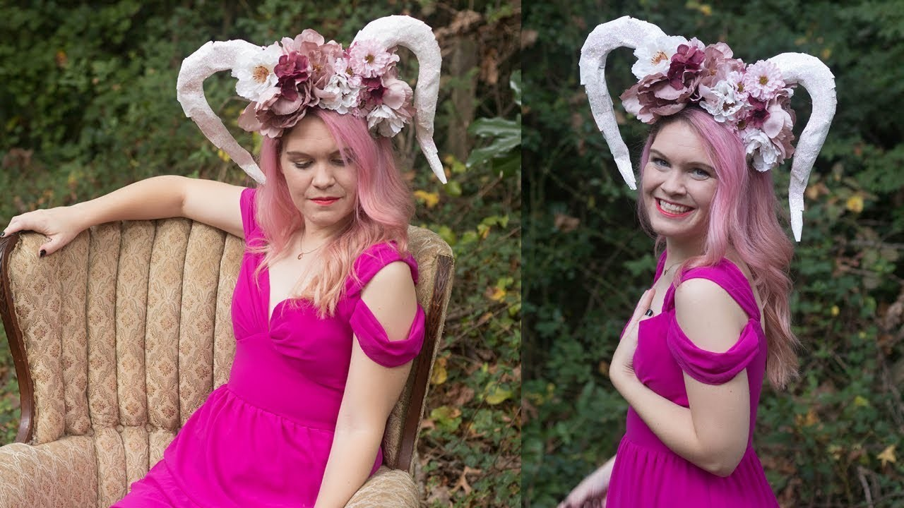 How to Make Paper Mache Horns for a Costume