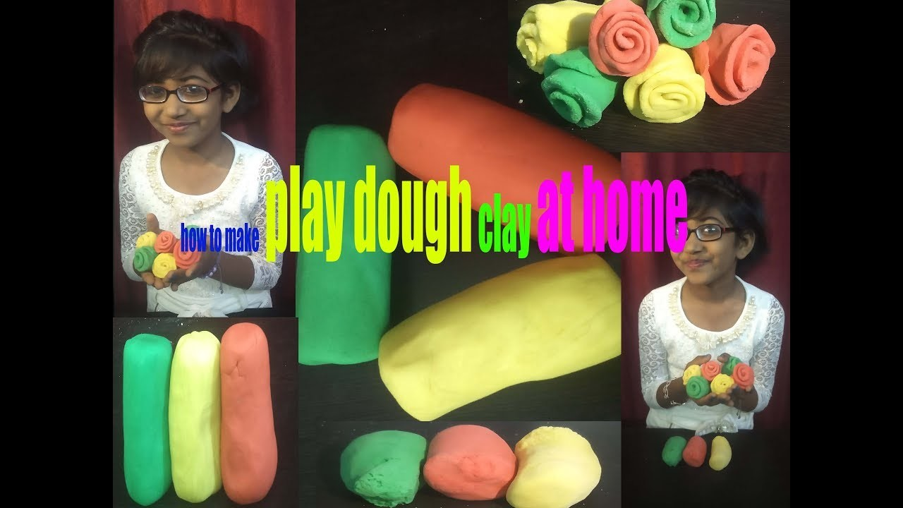 How To Make Play Dough At Home - Video Recipe
