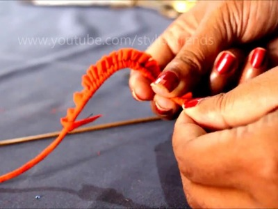 How to make thin Dori || Dori making idea || Fashion designing tips