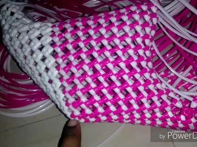 "How To Make ""W"" Shape basket Part-2"