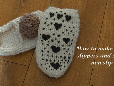 How To Make Your Slippers And Socks Non-slip