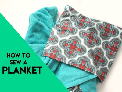 How to sew a Planket and what it is!