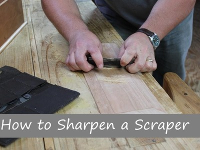 How to Sharpen a Card Scraper