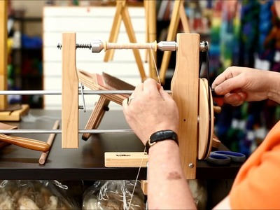 How to Use a Double-Ended Bobbin Winder