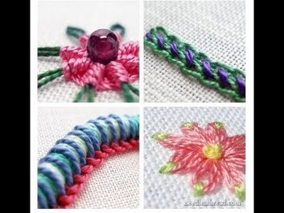 [in hindi] ,how to make embroidery tutorial episode 1