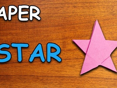 Learn How To Make A Star Using Paper | Origami For Kids | Periwinkle