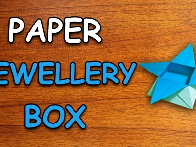 Learn How To Make Jewellery Box Using Paper | Origami For Kids | Periwinkle