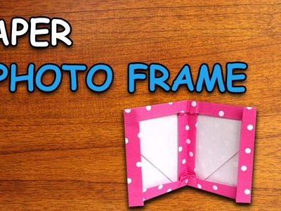 Learn How To Make Paper Photo Frame | Origami For Kids | Periwinkle