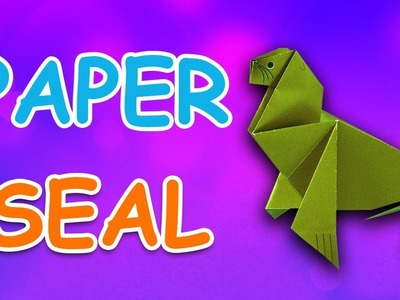 Learn How To Make Seal Using Paper | Origami For Kids | Periwinkle
