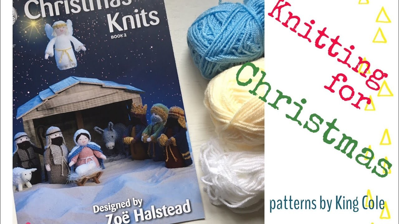 NATIVITY ANGEL - How to knit an angel (Part 1: body and head) | Teo Makes