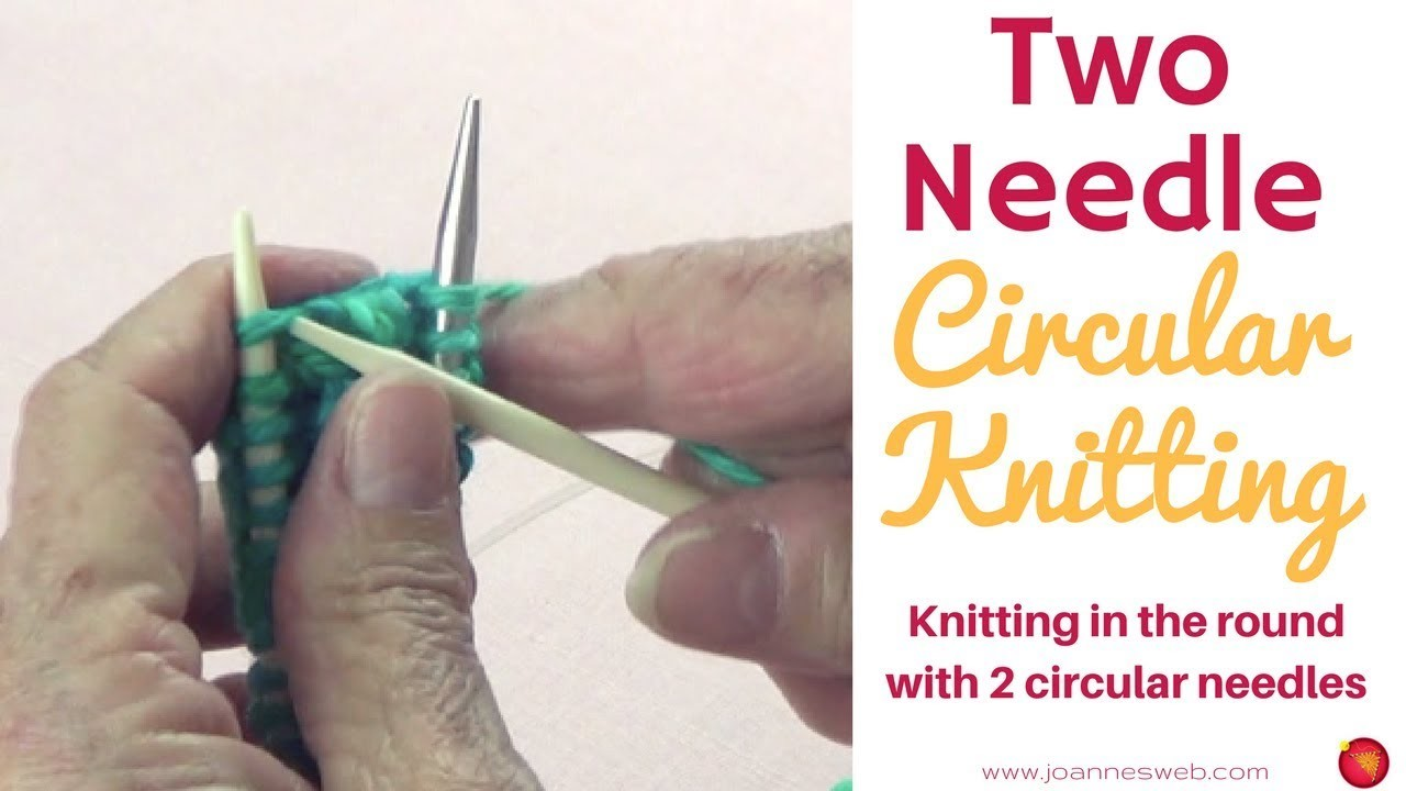 Knitting In The Round Circular Needles : Round knitting with circular needles how to knit in the