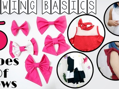 Sewing Basics: 5 Types Of Bows You Should Know How to Make