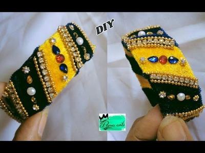 Trendy bangle - How to make this trendy bangle | jewellery tutorials