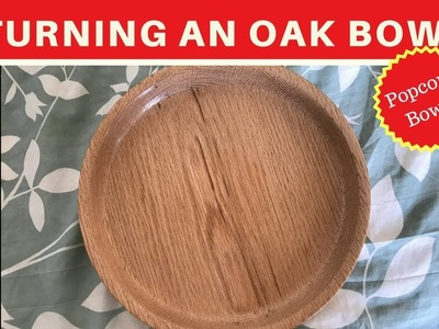 Turning an Oak Bowl (glue- up)- Upcycling - How To WoodTurning