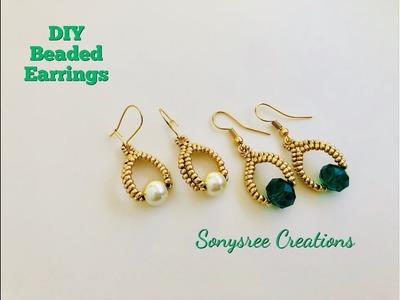 199d35ec1 Earrings, DIY Fashion, Custom Stud Earrings, Designer DIY, DIY ...