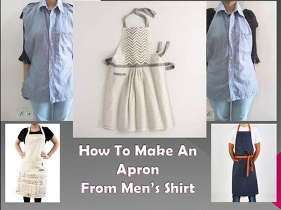 DIY: How To Make An Apron From Men's Shirt