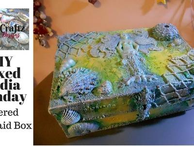 DIY Mixed Media Monday Altered Mermaid Box