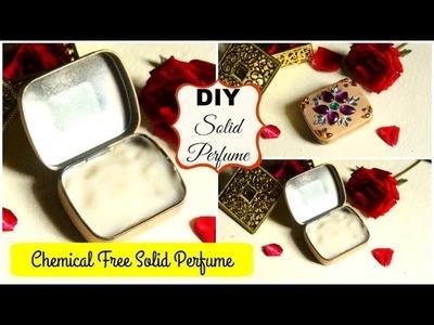 DIY Solid Perfume   DIY Chemical Free Perfume in Rose-Lavender Fragrance