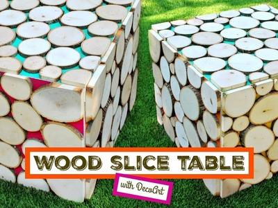 DIY Wood Slice Table with Mark Montano