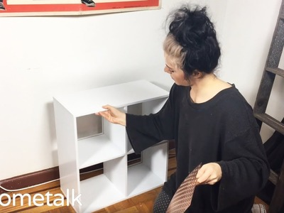How to DIY a Chic Bar Cart with an Ikea Bookcase