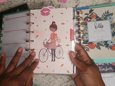 New 2018 Mini Happy Planner Setup - Part One