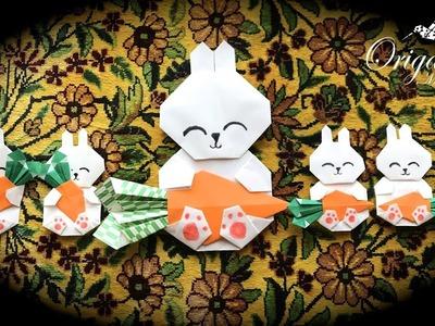 Origami Maniacs 310: Cute Origami Bunny