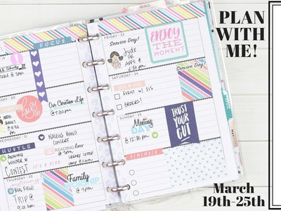 Showing Some????MINI HAPPY PLANNER LOVE!????| Plan With Me! | At Home With Quita