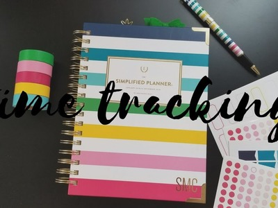 Time Tracking With A Color-Coded System in the Simplified Planner