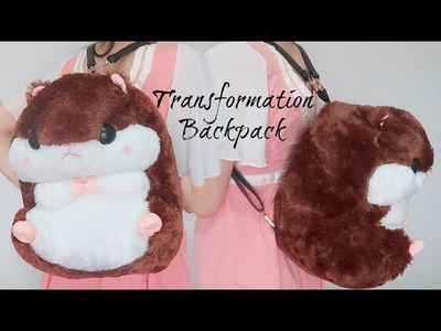 Transforming Plushie Into Backpack in Minutes! Backpack Idea!