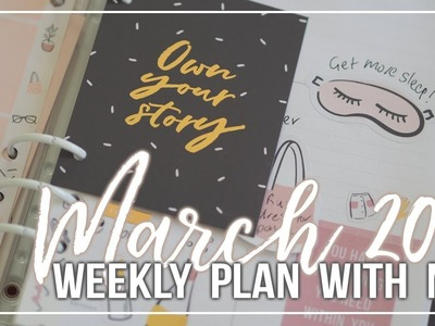 Weekly Plan with me | Kikki K Planner (Own Your Story)