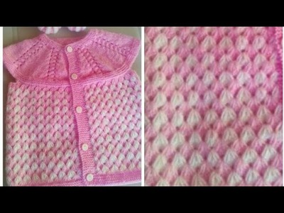 Beautiful Woolen Dress for Babies in Hindi.Requested Video:Design-143