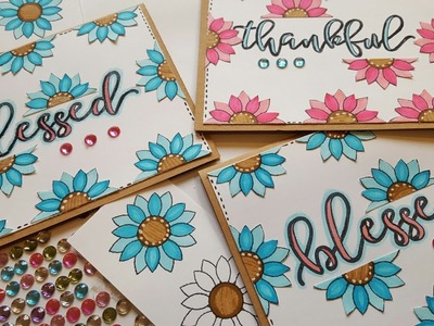 BLESSED GREETING CARDS | MAYMAY MADE IT DESIGN TEAM PROJECT