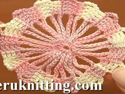 Bruges Lace Crochet Tutorial 2