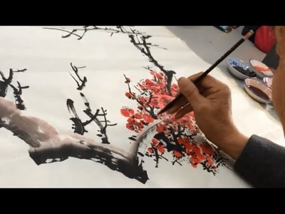Class painting Chinese painting - first lesson