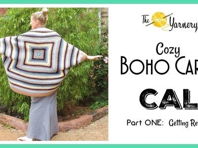 Cozi Boho Cardi CAL Part ONE -  Getting Started