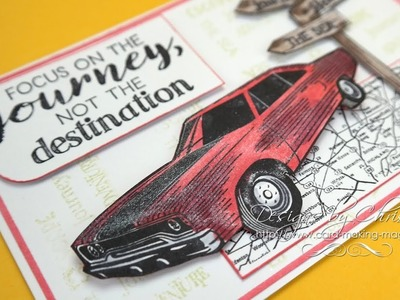 Creative Stamping 54 (CS54) - Life's an Adventure