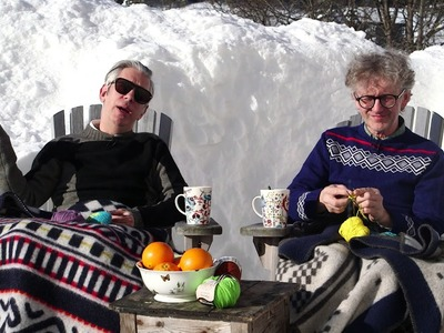 Easter Greetings + free knitted egg pattern from ARNE & CARLOS