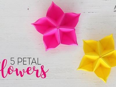 Easy Paper Flowers | Petal Flower | DIY Flower