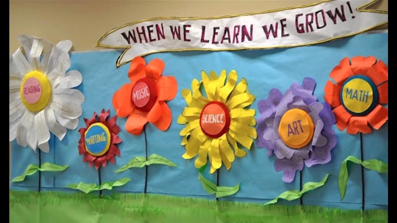 Easy Spring Classroom Decorations