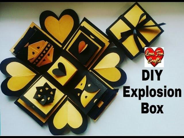Explosion Box Diy Craft Ideas