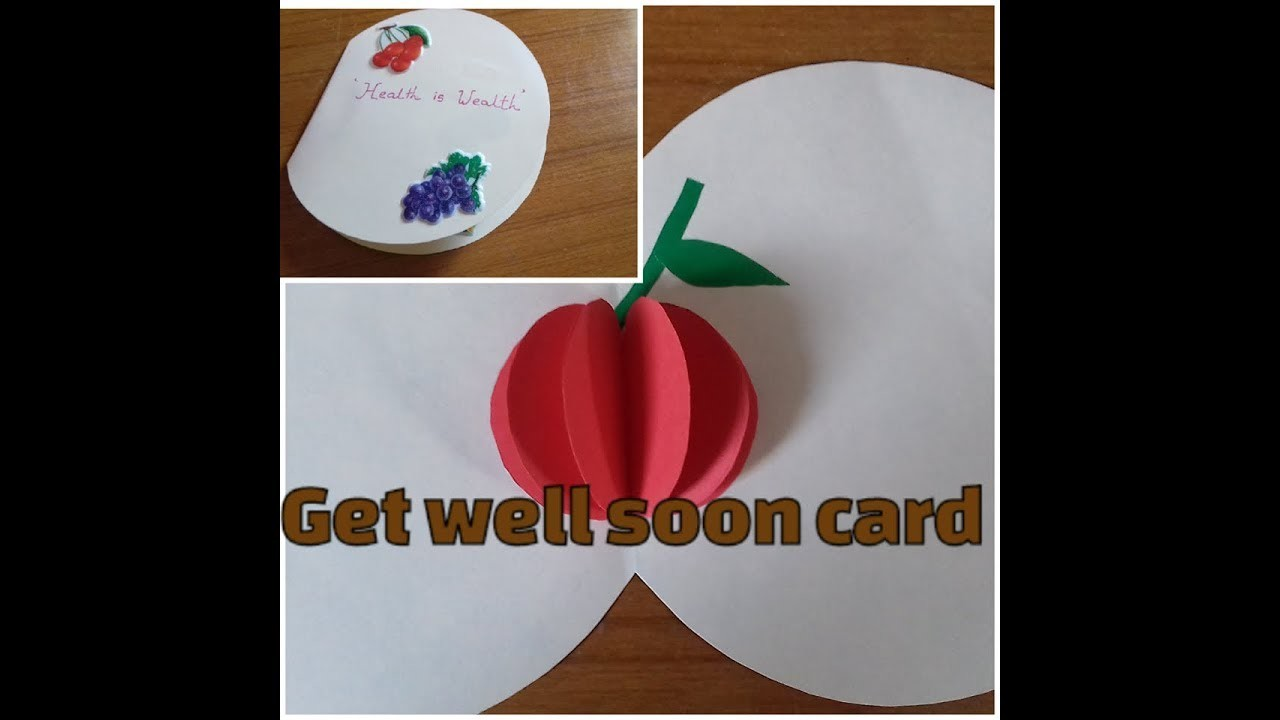Get Well Soon Card Making For Kids