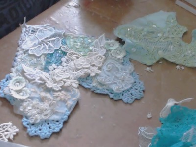 How To Create Shabby Chic Embellishments With Snippets PT 2 Tutorial