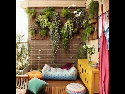 How to Decorate Small Balcony